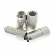 D1 SPEC Nakrętki do felg M12x1,5 imbusowe srebrne