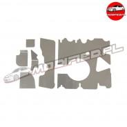 MODIFIED Przegroda miski olejowej Honda Civic TypeR FN2 K20Z4