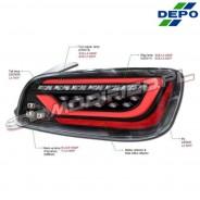 DEPO Lampy tylne LED Honda S2000 AP1 AP2